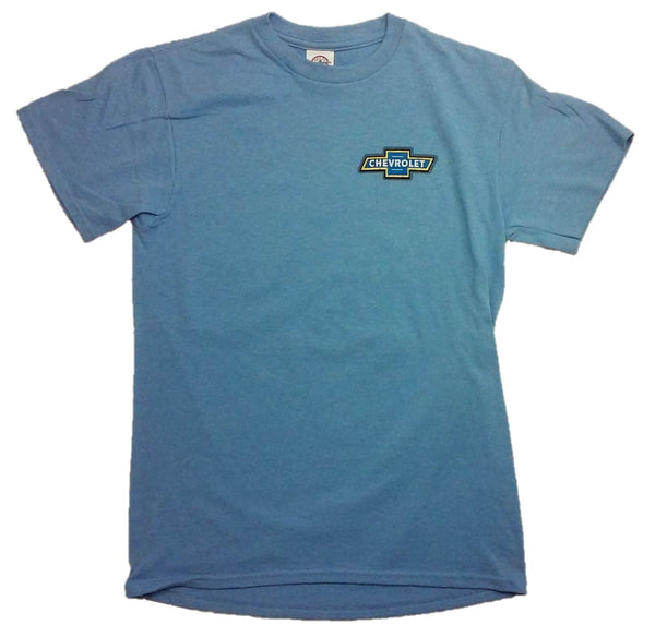 "Chevrolet Woodie ""Ride The Tide Surf Club"" Short Sleeve T-Shirt by Joe Blow T's"