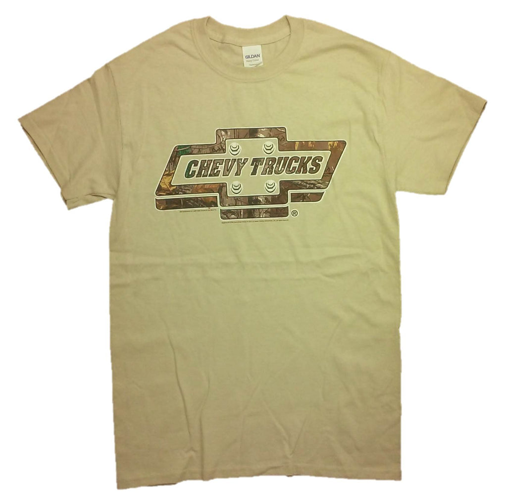 GM Realtree Chevy Trucks Retro Logo T-shirt by Joe Blow