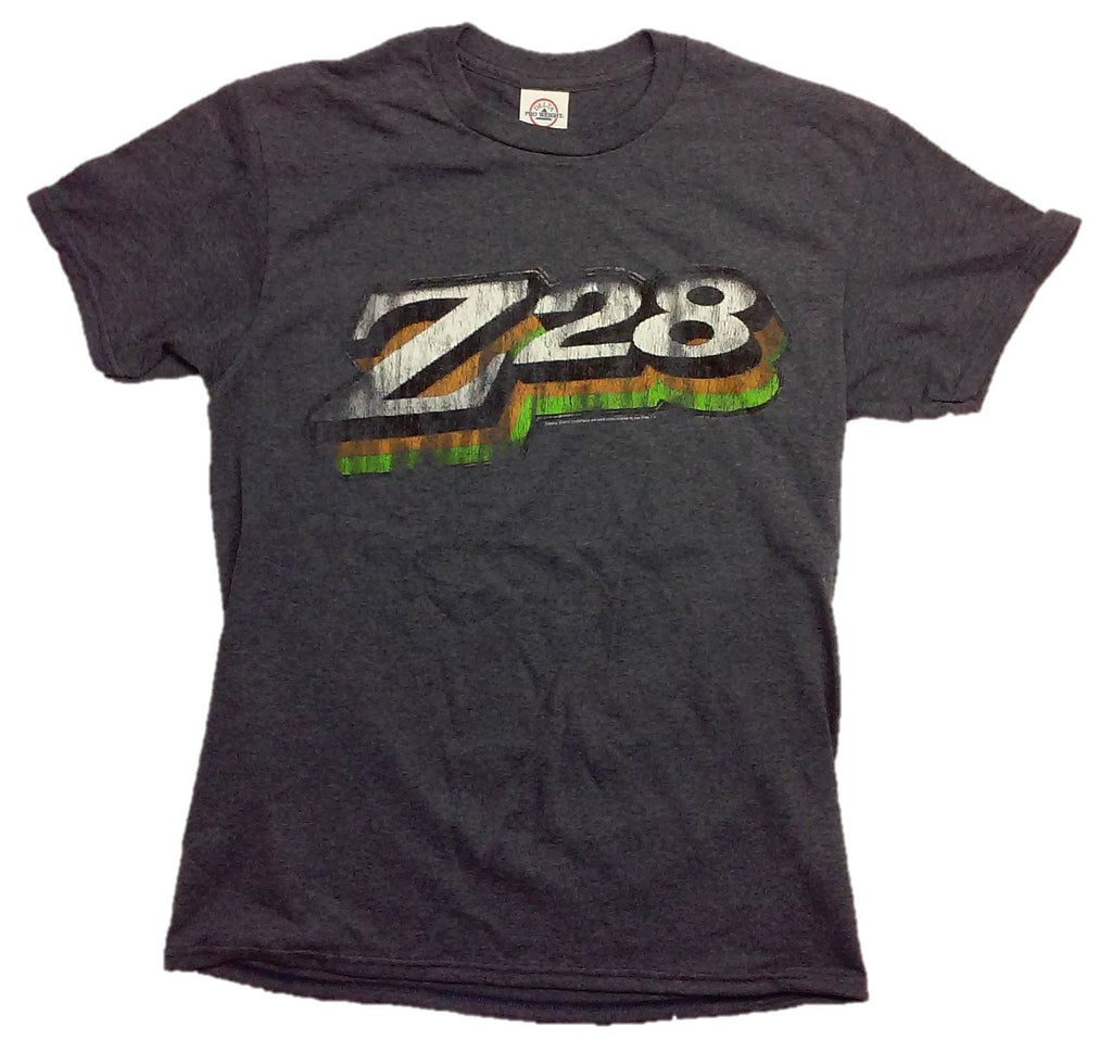 Chevrolet Z28 Logo Retro Adult T-Shirt by Joe Blow T's
