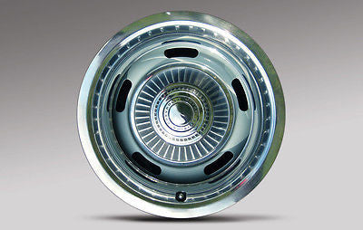 Corvette Printed Image of a C2 Wheel on Corrosion Resistant Aluminum Sheet Sign