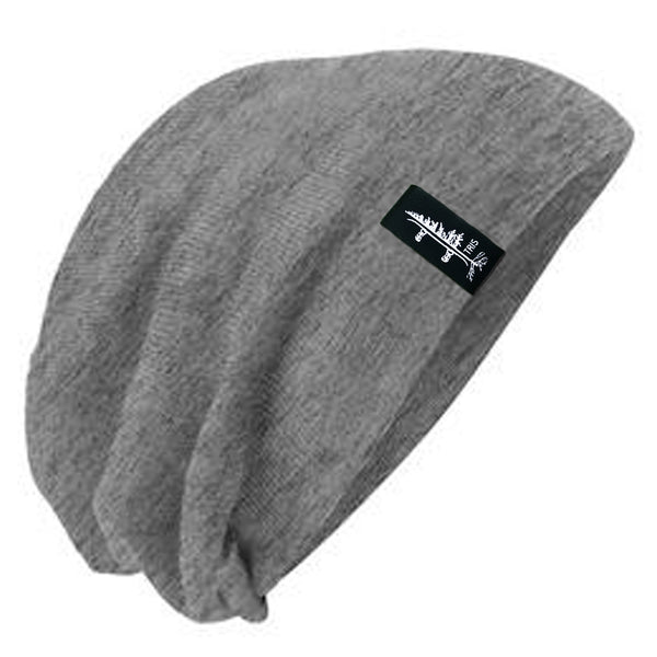 9068003e1d3 The Slouch Beanie - Heather Grey – TRIS - The Reason I Snowboard