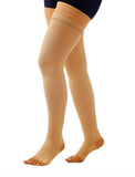 COMPREZON VARICOSE VEIN STOCKINGS CLASS 2 BELOW KNEE COTTON