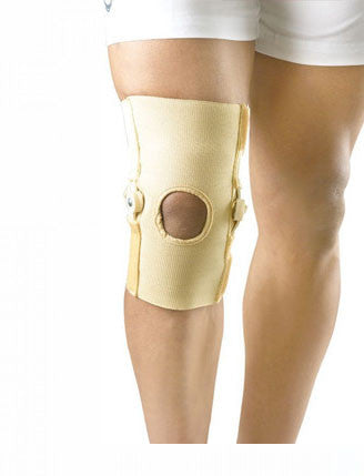 Hinged Knee Brace Open Patella – Dyna