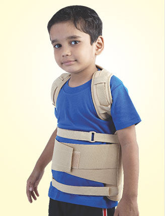PEDIATRIC DORSOLUMBER SPINAL BRACE