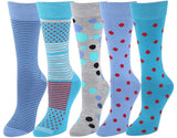 Men's Super Soft Dress Crew Sock, Comfort Soft & Dreamy Micro Poly