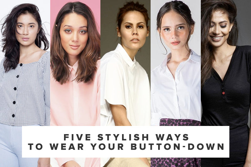 Five Stylish Ways to Wear Your Button-Down