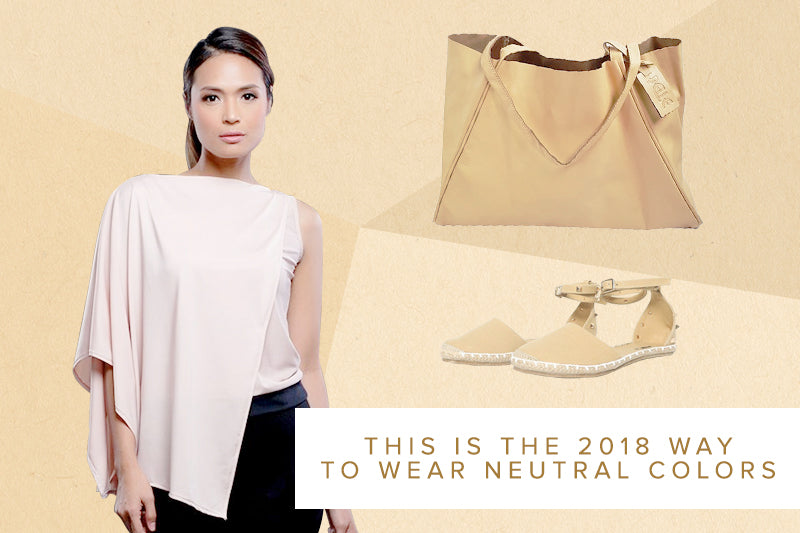 This is the 2018 Way to Wear Neutral Colors