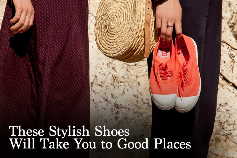 These Stylish Shoes will Take You to Good Places