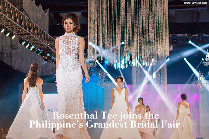 Rosenthal Tee joins the Philippine's Grandest Bridal Fair