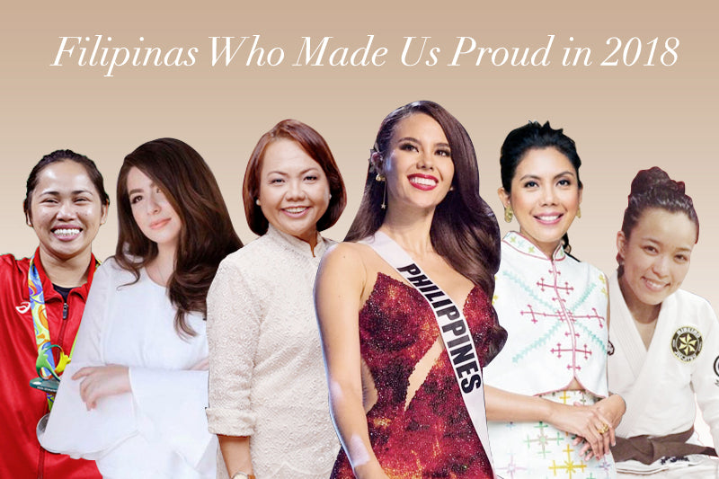 Filipinas Who Made Us Proud in 2018