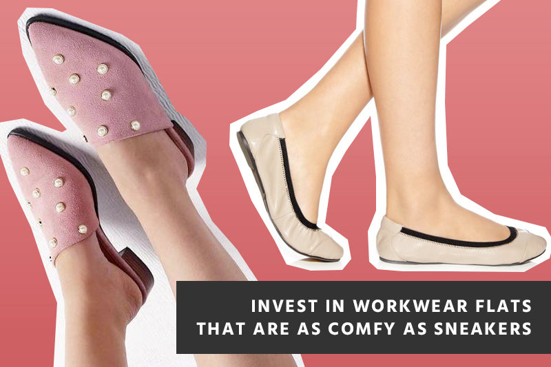 Invest in Workwear Flats that are as Comfy as Sneakers