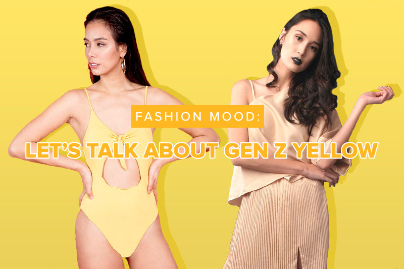 Fashion Mood: Let's Talk About Gen Z Yellow