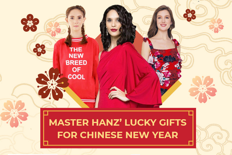 Master Hanz' Lucky Gifts for Chinese New Year