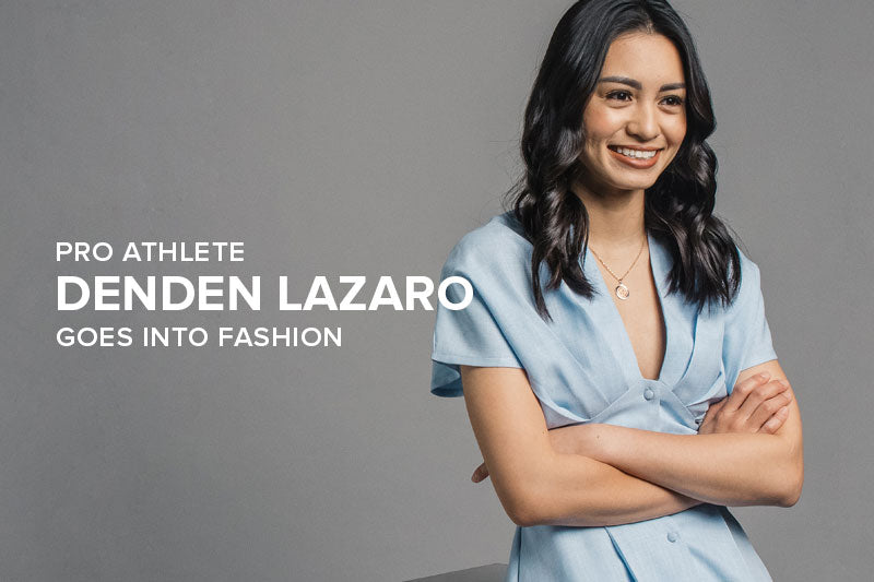 Pro Athlete Denden Lazaro Goes into Fashion