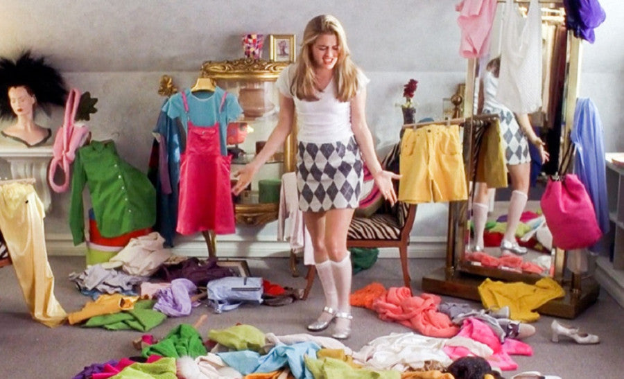 It's almost time for a wardrobe clean-out! What are you throwing away?