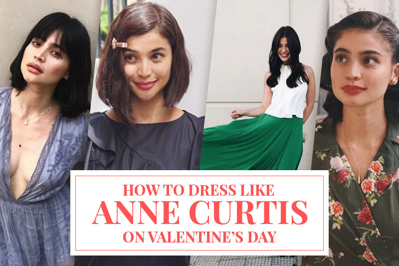 How to Dress like Anne Curtis on Valentine's Day