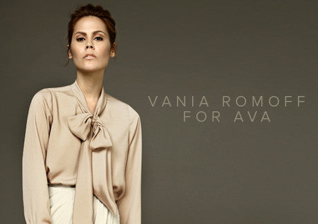 Vania Romoff For AVA