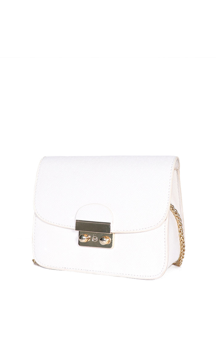 Poppy Sling Bag in White
