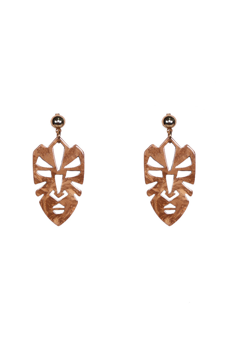 Cuba Earrings in Beige