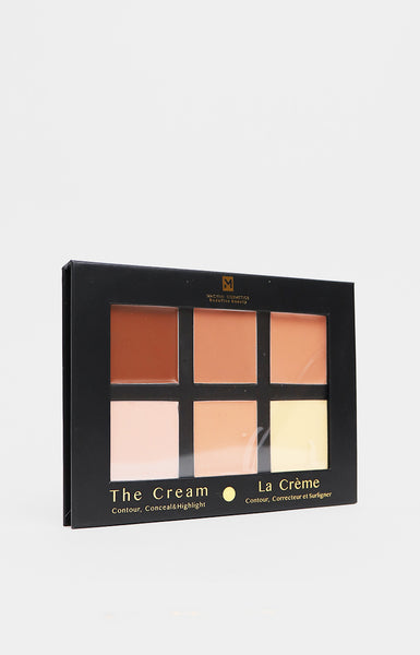Cream Contour Palette - Light