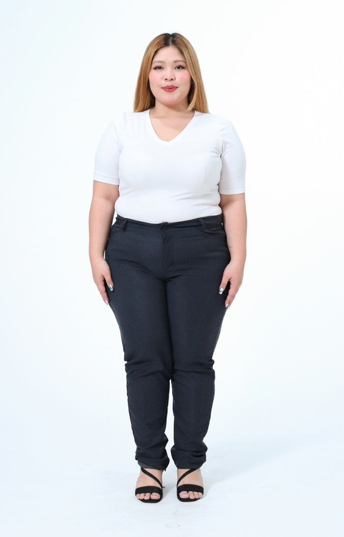 Joan Gray Plus Size Wear to Work Pants