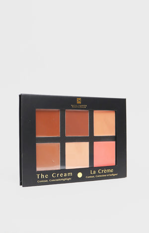 Cream Contour Palette - Medium