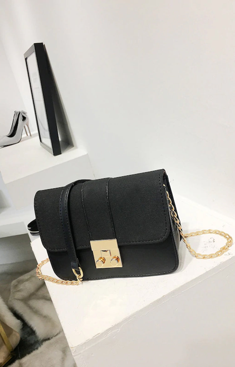 Charlotte Sling Bag in Black