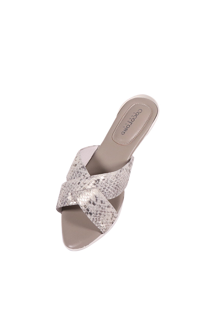 Classic Elegance Charing Cross (Snakeskin Silver)
