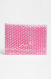 Strip It Pink Bubble Pouch