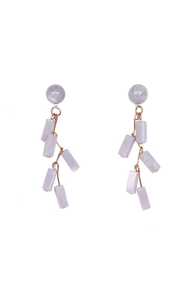 Candy Earrings in Lavender