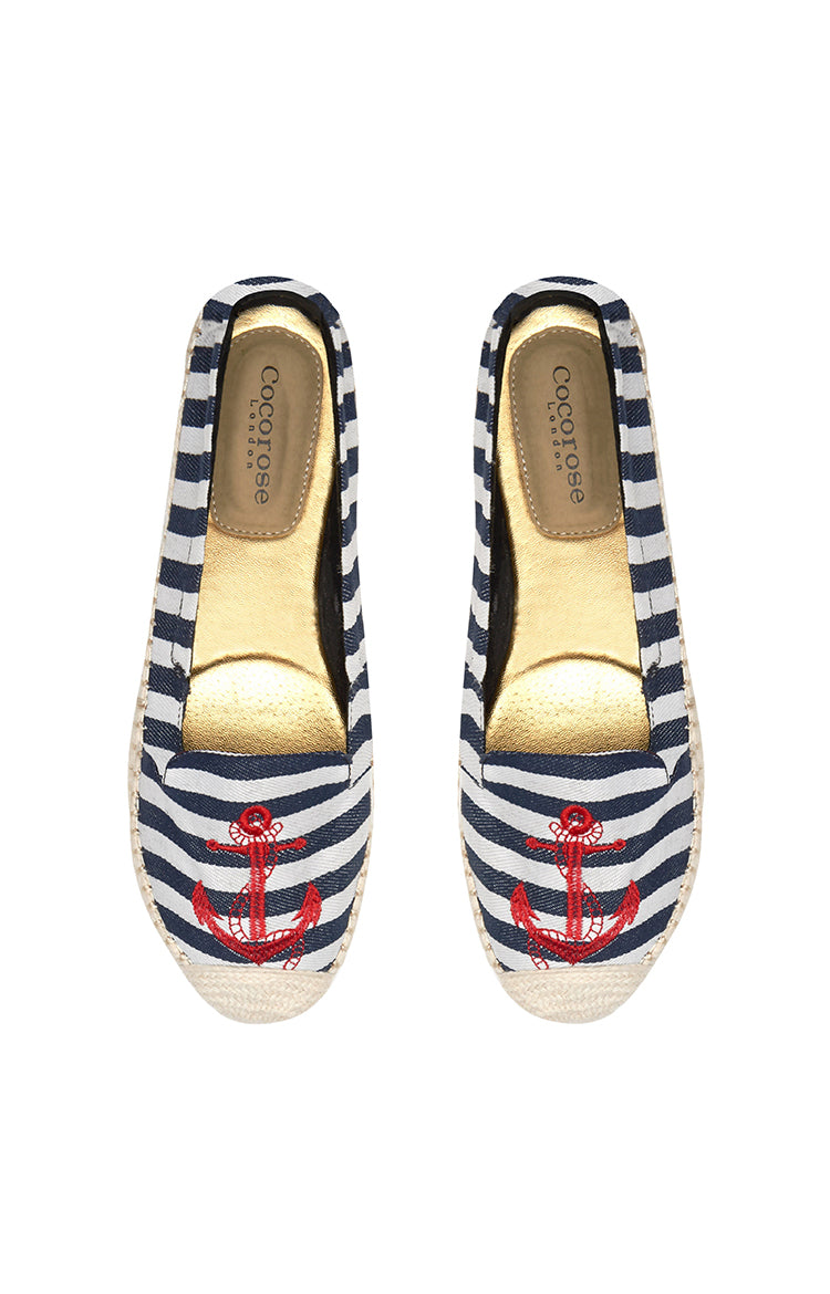 Diffusion Carnaby (Nautical Striped with Applique)