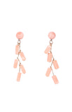 Candy Earrings in Millenial Pink