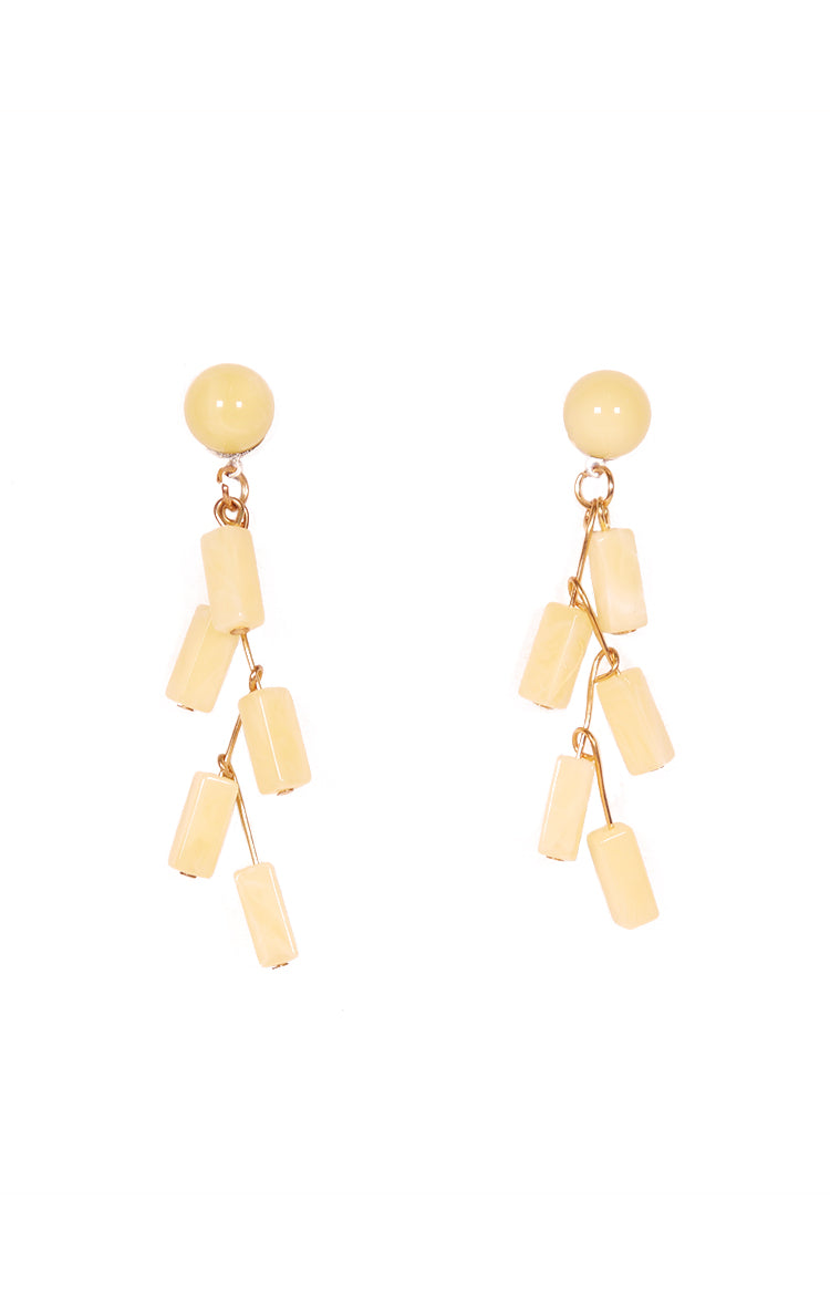 Candy Earrings in Yellow