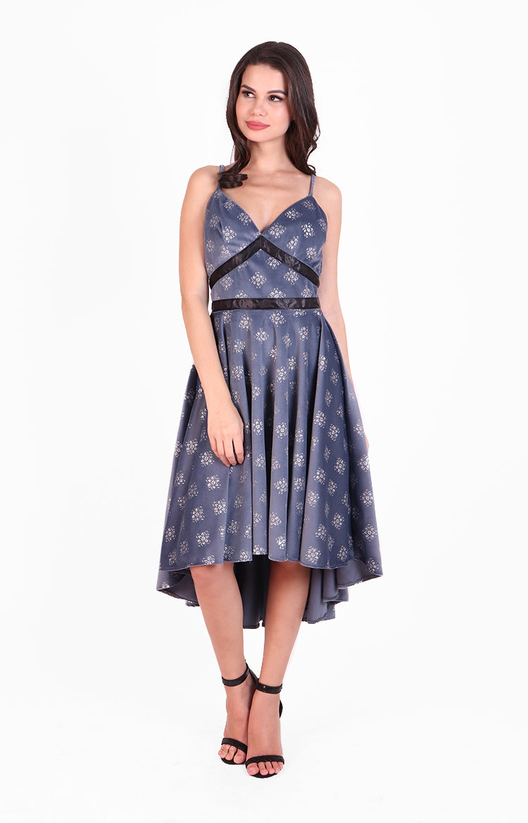 Gemma Dress in Blue