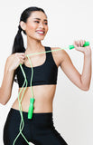 Womanly Jumping Rope in Green