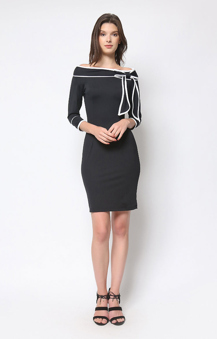 Louella Dress in Black