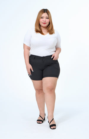 Joan Gray Plus Size All-Wear Shorts