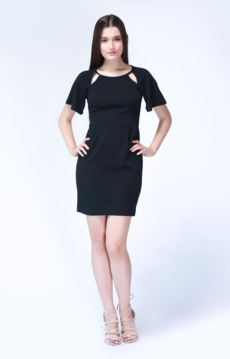 Adrienne Dress in Black