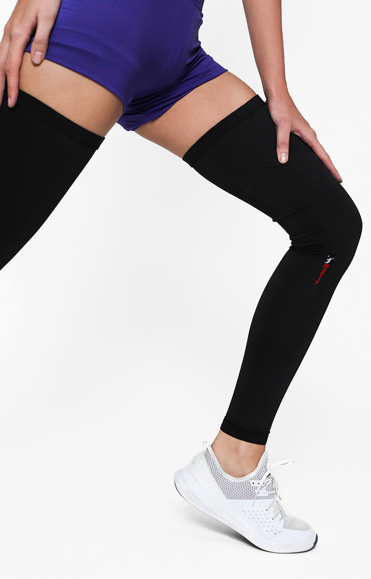 Spandex Compression Full Leg Sleeve (65-02) *Comes In Pair