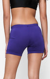 "Womanly Ladies Compression Shorts 5"" Violet"