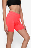 "Womanly Ladies Compression Shorts 5"" Fuschia Pink"