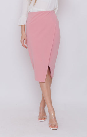Naiara Slit Pencil Skirt