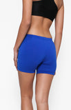 "Womanly Ladies Compression Shorts 5"" Royal Blue"