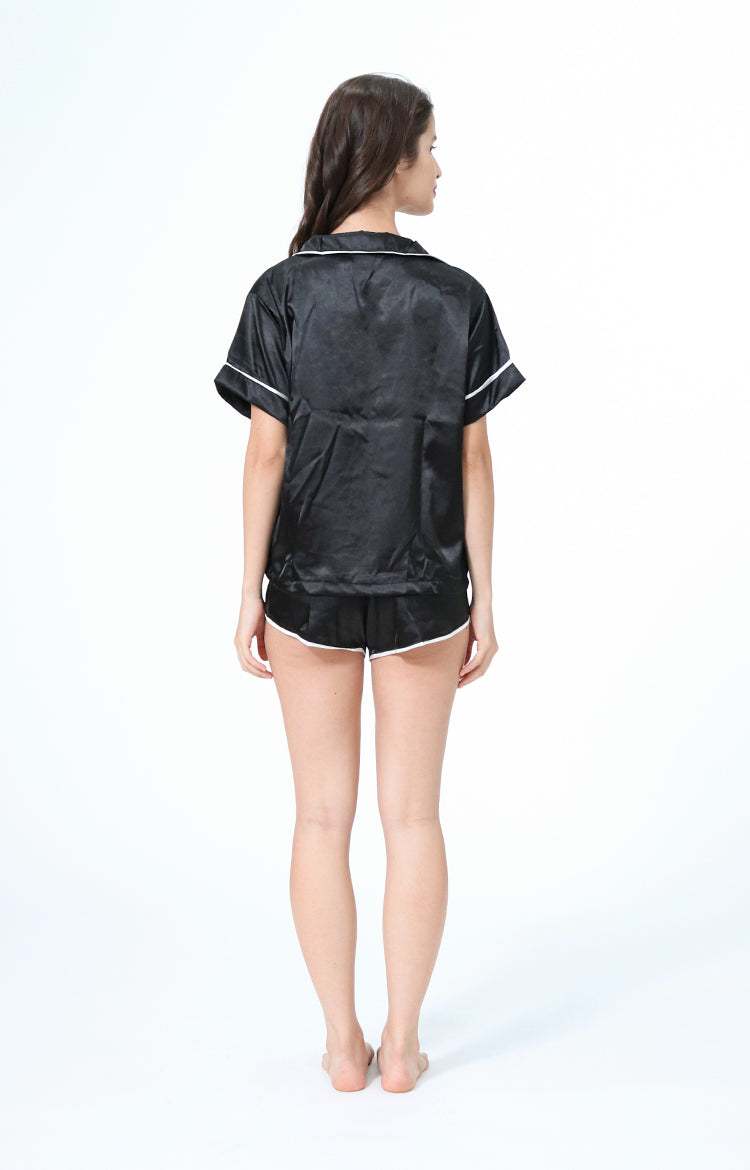 Kyle Black Sleepwear Set