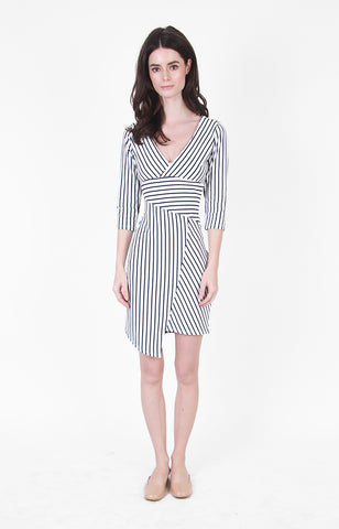 Blake Dress in Stripes