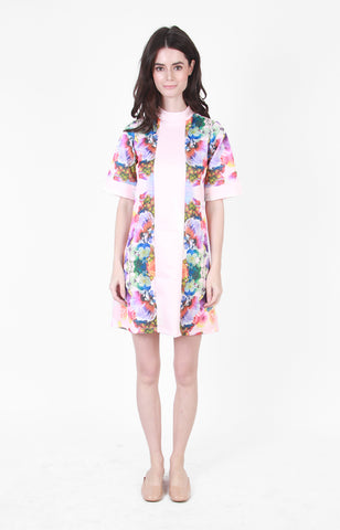 Berlin Dress in Pink Floral