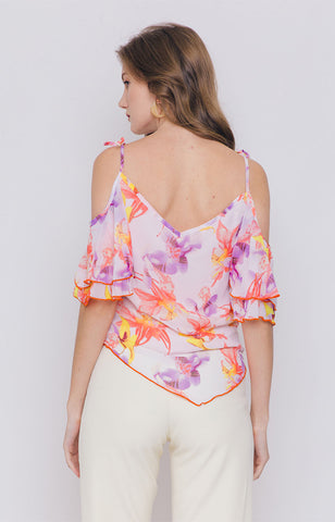 Latoya Cold Shoulder Top