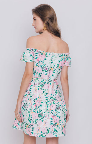 Moya Off Shoulder Dress