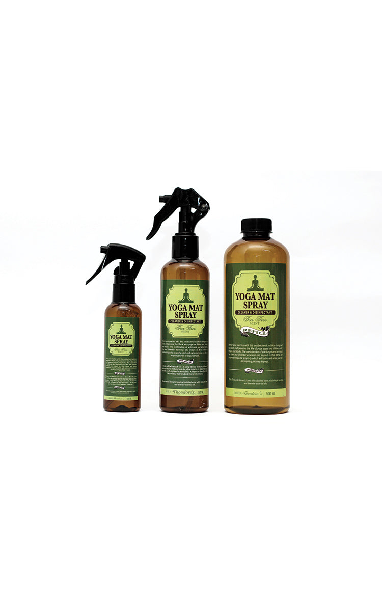 Yoga Mat Spray Cleaner and Disinfectant 100ml
