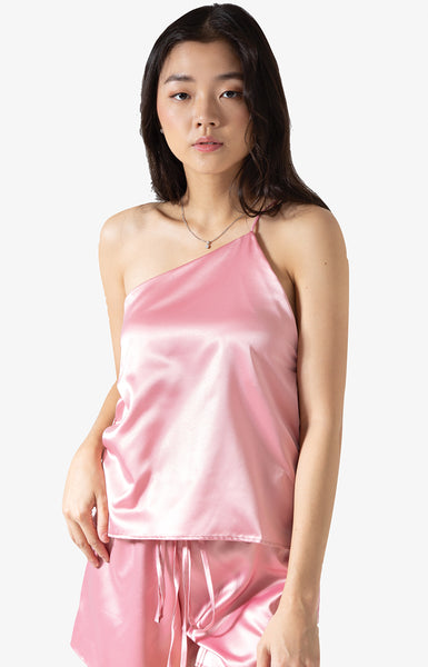 Asymmetrical Top (Pink)